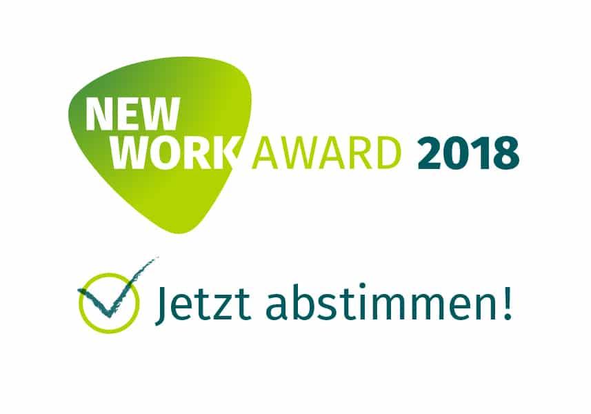 New Work Award - Jetzt abstimmen
