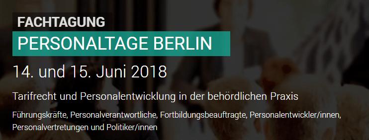 Personaltage Berlin